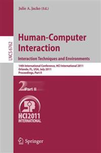 Human-Computer Interaction: Interaction Techniques and Environments
