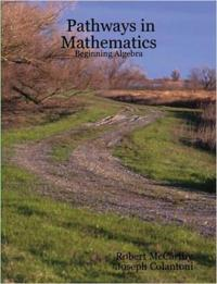Pathways in Mathematics