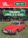 Triumph 2000, 2.5, 2500, 1963-77