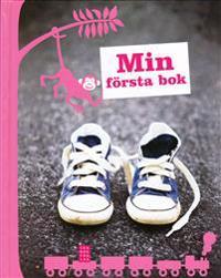 Min första bok rosa