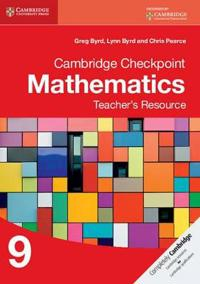 Cambridge Checkpoint Mathematics Teacher's Resource 9