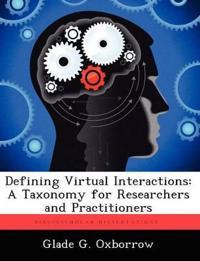 Defining Virtual Interactions