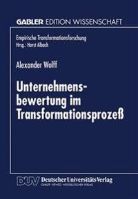 Unternehmensbewertung Im Transformationsprozess