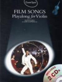 Guest spot - film songs playalong for flute (book and 2 cds)