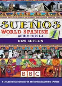 SUENOS WORLD SPANISH 1 CDS 1-4 NEW EDITION