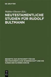 Neutestamentliche Studien F r Rudolf Bultmann