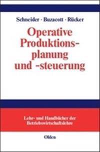 Operative Produktionsplanung Und -steuerung