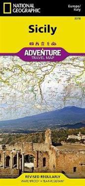 National Geographic Adventure Map Sicily