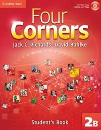 Four Corners Level 2 Student's Book B with Self-study CD-ROM and Online Workbook B Pack