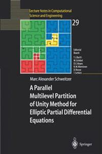 A Parallel Multilevel Partition of Unity Method for Elliptic Partial Differential Equations